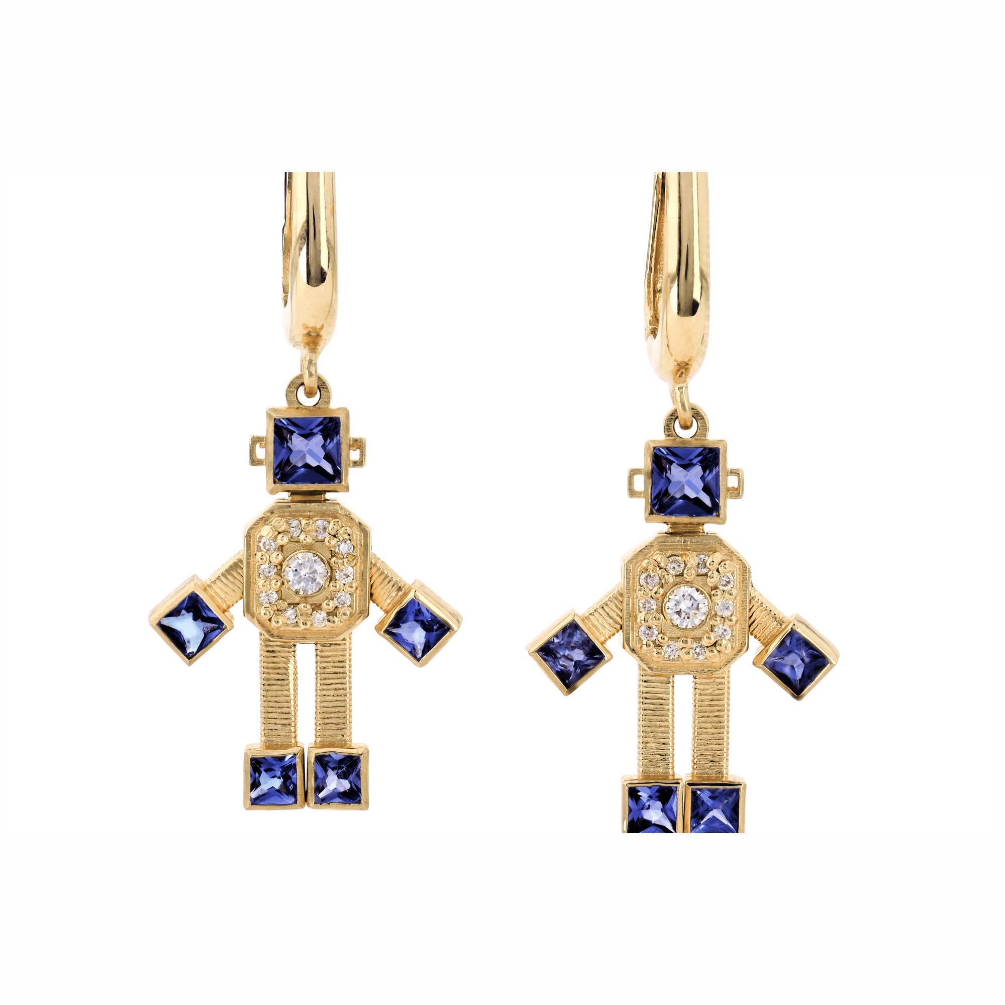Rome VAN Robot Earrings